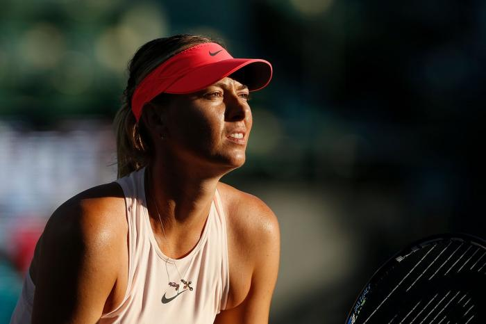 Maria Sharapova confirma una mala noticia