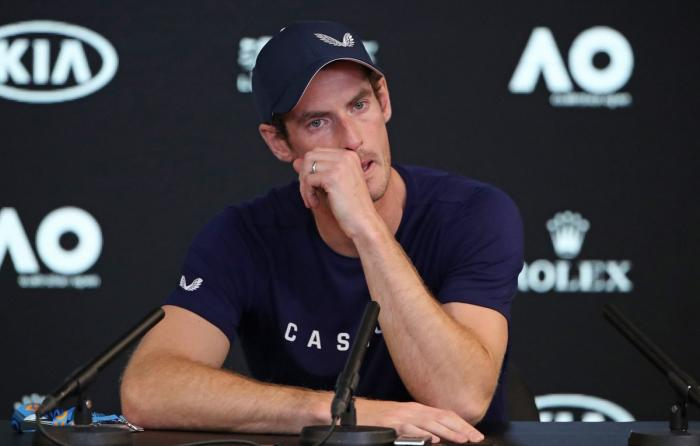Andy Murray: Con mucho dolor, me retiraré tras Wimbledon