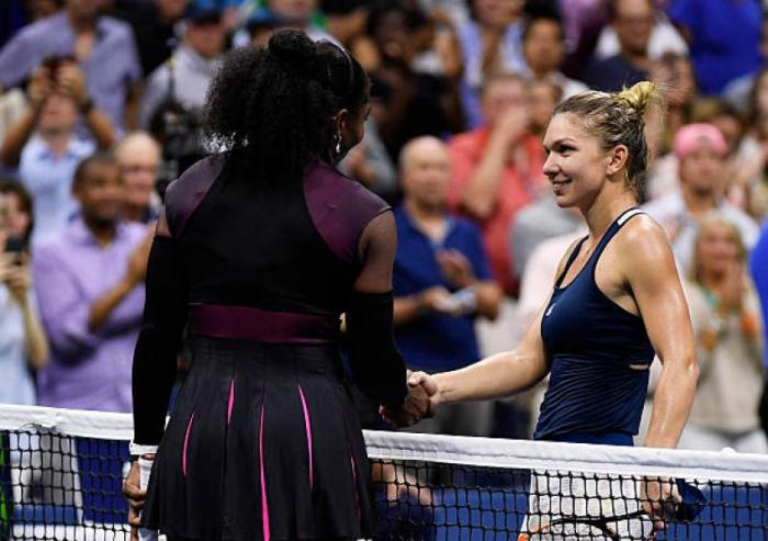 Serena Williams cobró revancha por su hermana y venció a Halep