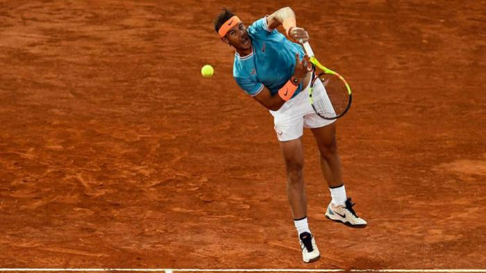 ATP Roma: Un intratable Rafael Nadal supera a Jeremy Chardy