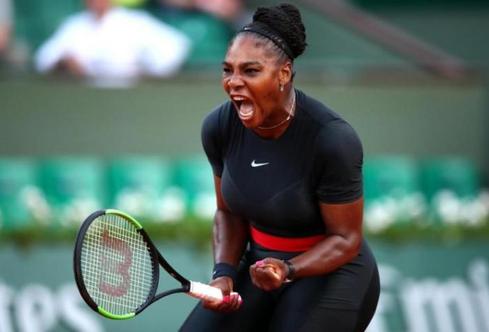 Serena Williams es una amenaza total en el Abierto de Francia
