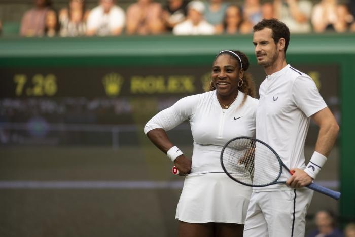 Wimbledon: Serena Williams y Andy Murray se salieron con la suya