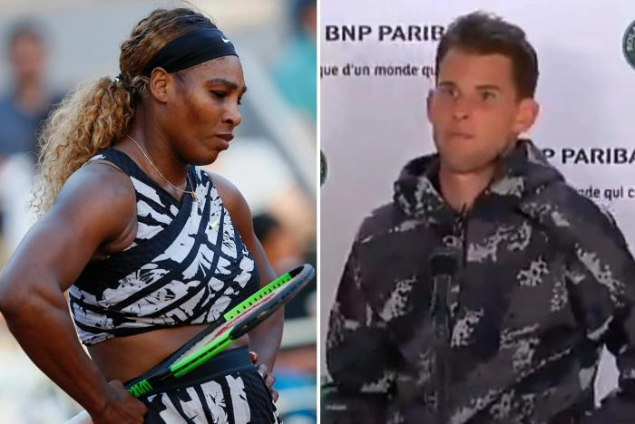 El incidente de Serena Williams y Dominic Thiem fue ridículo - McEnroe
