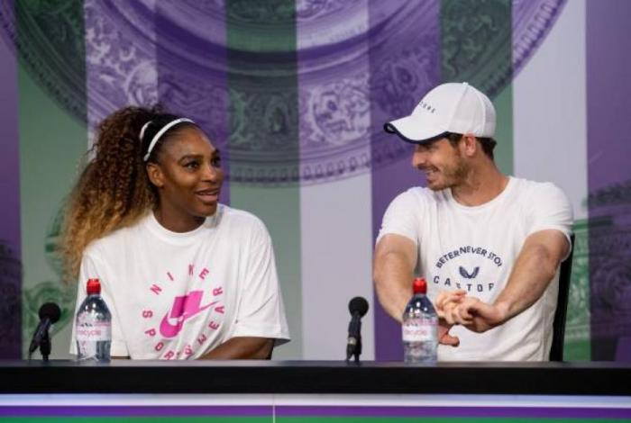 Serena Williams: Me divertí mucho con Andy Murray