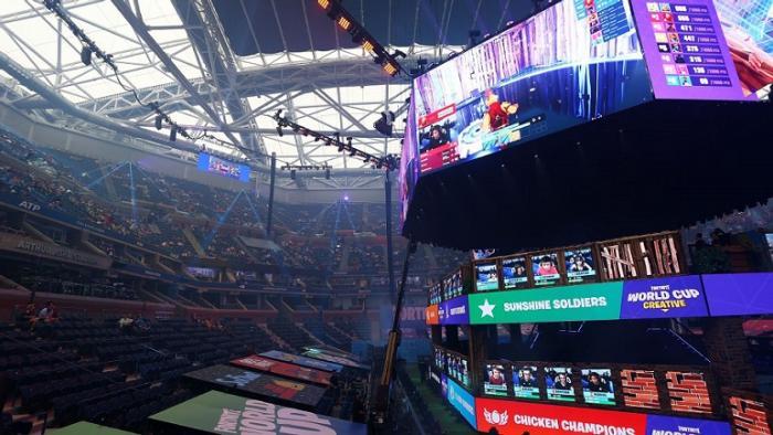 Tenis y Videojuegos: Mundial de Fortnite en el Estadio Arthur Ashe