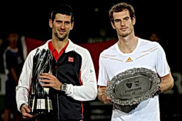 En este día: Novak Djokovic salva 5 MP y vence a Andy Murray en Shanghai