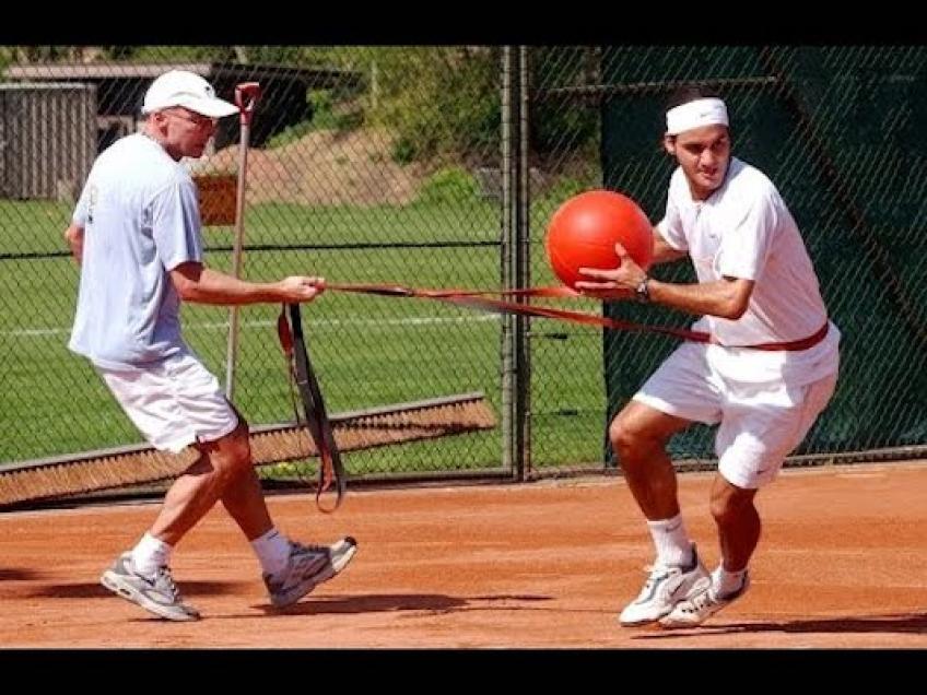 Roger Federer - Últimos ejercicios de fitness para el tenis
