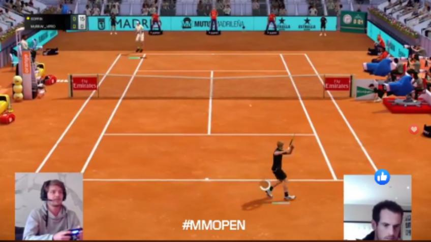 Andy Murray es el campeón del primer Madrid Masters Virtual