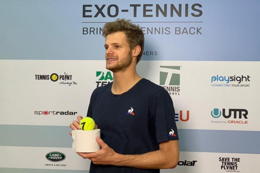 Yannick Hanfmann gana serie inaugural de la Tennis-Point Exhibition Series