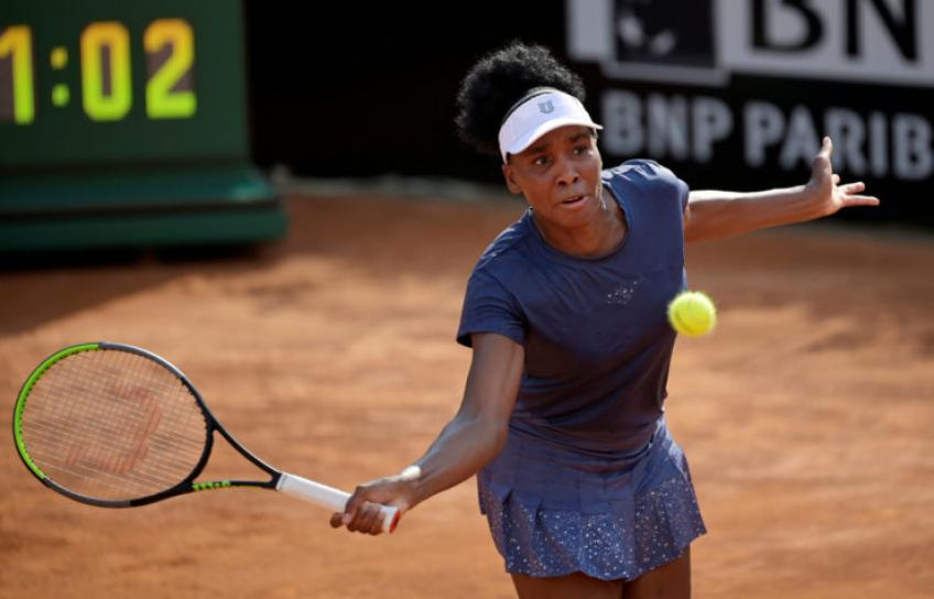 Venus Williams sigue sin triunfar en Grand Slam, se retira del Roland Garros 2020