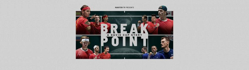Desde hoy ya disponible Break Point: A Davis Cup Story