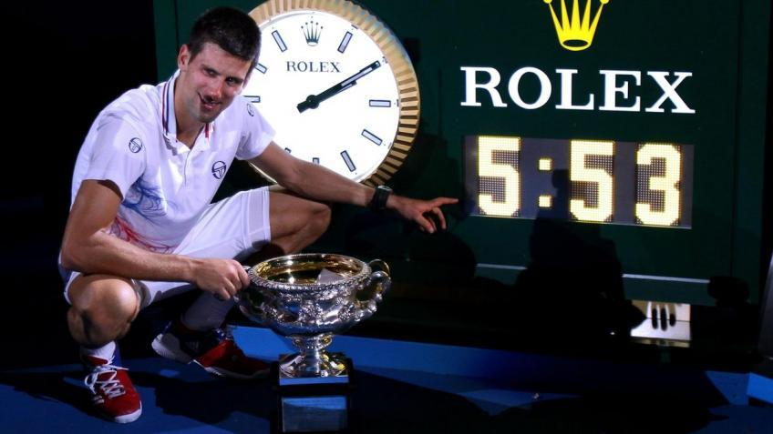 Novak Djokovic, el especialista del quinto set