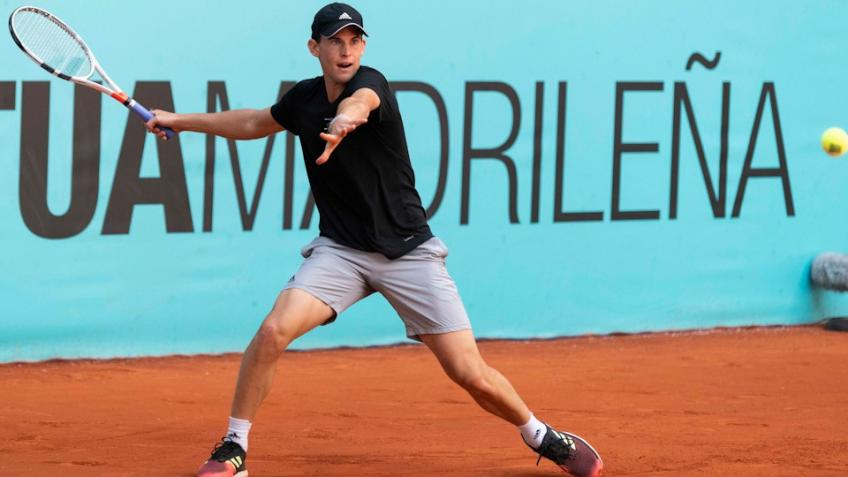 Dominic Thiem avanza a los cuartos de final del Mutua Madrid Open