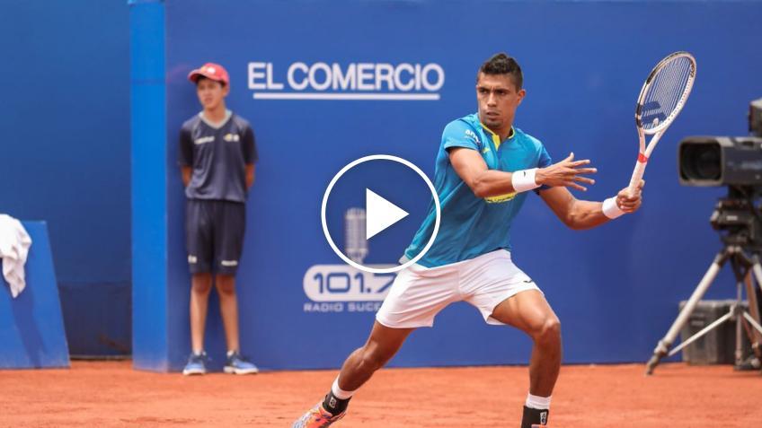 ATP Quito: Thiago Monteiro sorprende a Horacio Zeballos