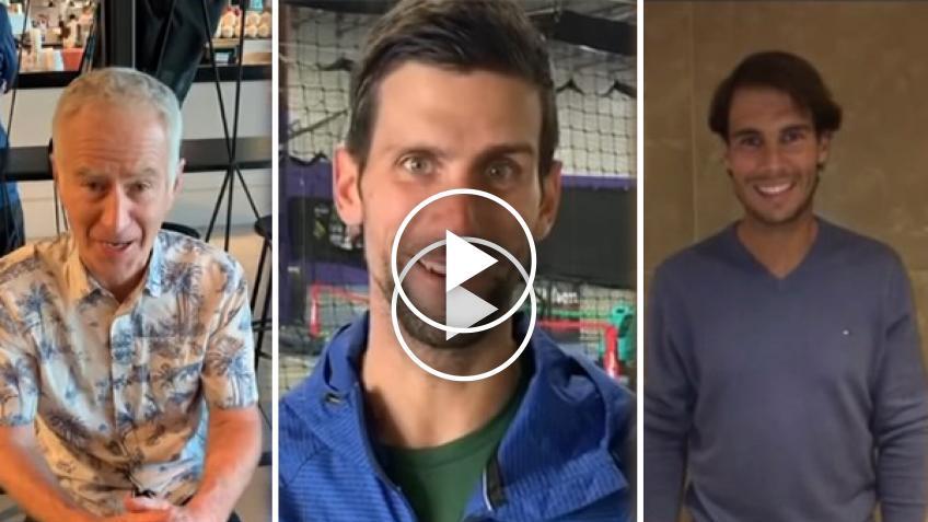 Djokovic, Nadal y McEnroe aparecen en una nueva canción sobre Karolina Pliskova