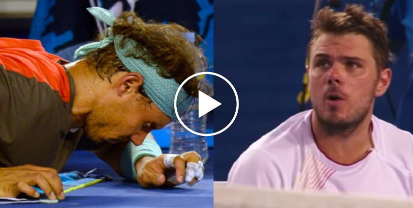 Dime por qué lo haces - Stan Wawrinka explotó por el tiempo médico de Rafael Nadal
