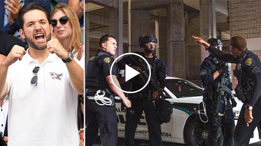 Esposo de Serena Williams aplaude a la policía que impidió violencia racial