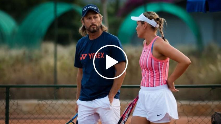 Es frustrante - Donna Vekic, sobre lo difícil de jugar el WTA de Palermo