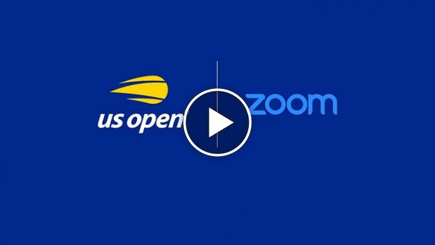 US Open anuncia asociaciones con Zoom Video y Emirates