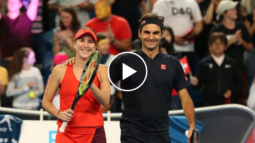 Belinda Bencic quiere formar equipo con Roger Federer en los Juegos Olímpicos de 2021