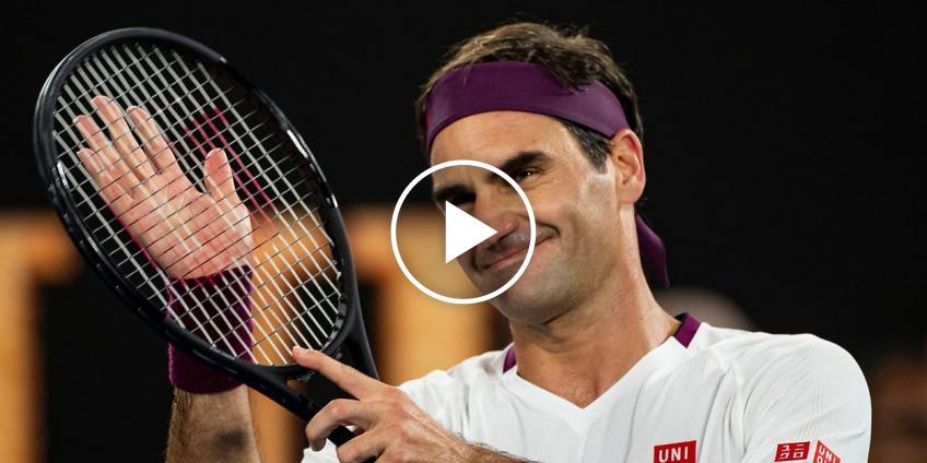 Roger Federer ofrece esperanza para la nueva temporada
