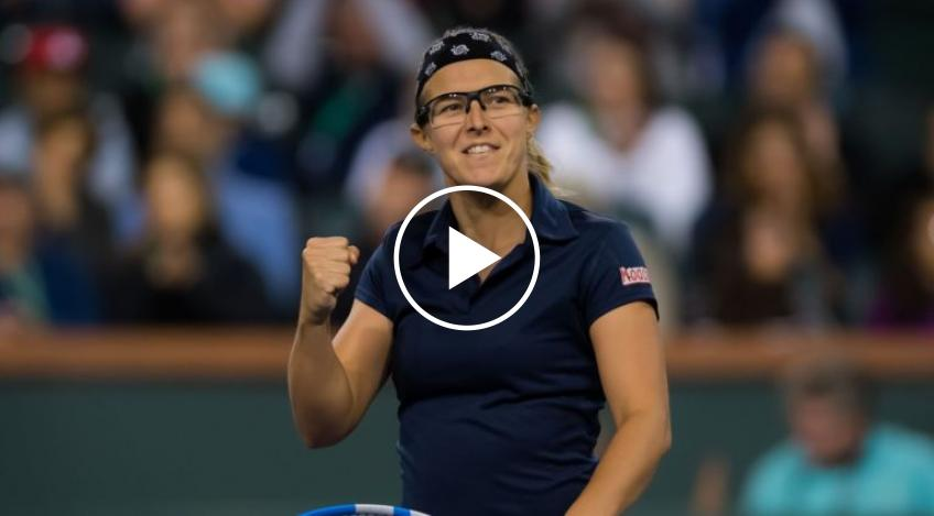 Kirsten Flipkens sufre un revés después de un aterrizaje incorrecto en WTA Abu Dhabi