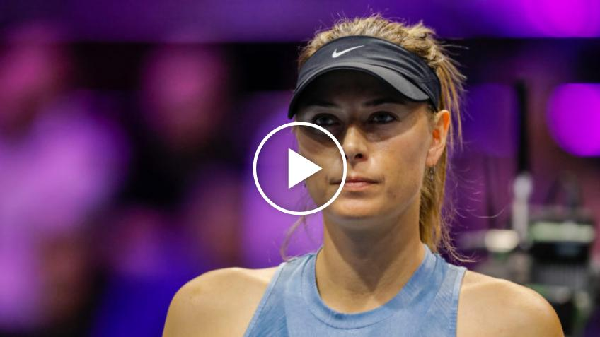 Maria Sharapova describes in detail the importance of health and well-being in her life