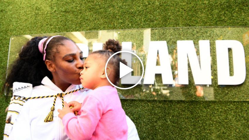 Alexis Ohanian crea la búsqueda de Pascua para Serena Williams y su hija Olympia
