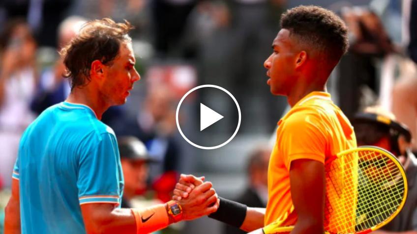 Rafael Nadal se entrena con Felix Auger-Aliassime en Monte Carlo Masters 2021