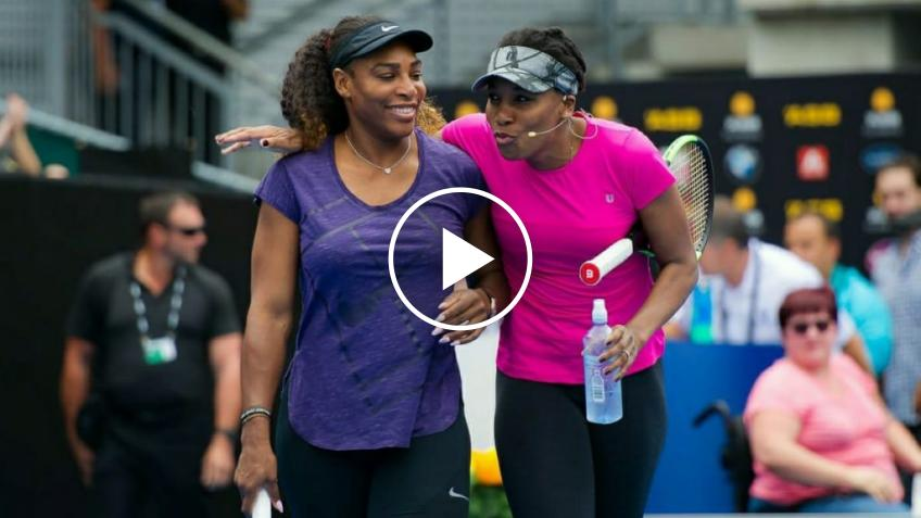 Venus Williams recuerda enfrentarse a su hermana Serena Williams