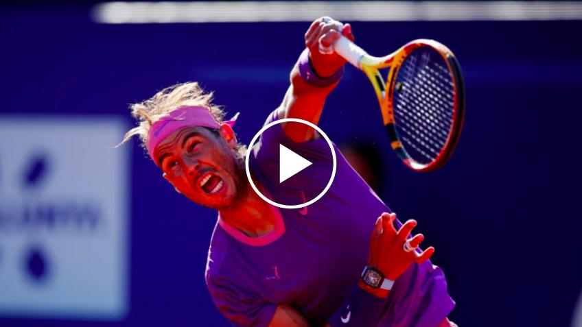 Carlos Alcaraz desafía a Rafael Nadal antes del choque del Mutua Madrid Open 2021
