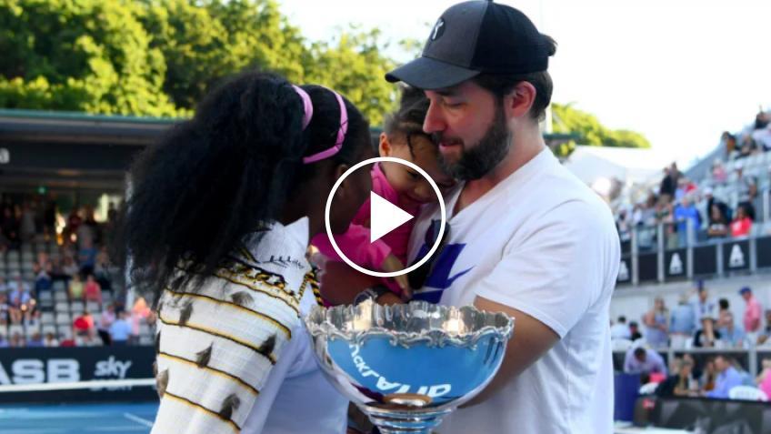 Serena Williams se va de vacaciones con Alexis Ohanian y Olympia
