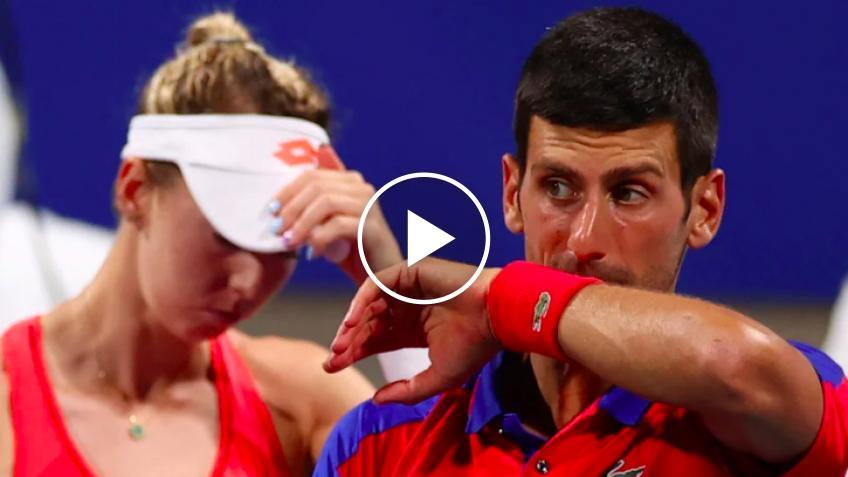 Nina Stojanovic escribe emotiva nota después de salida en Tokio 2020 con Djokovic