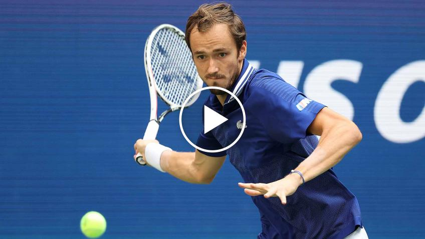 Psicologo ruso habla Daniil Medvedev y su gloria en el US Open 2021