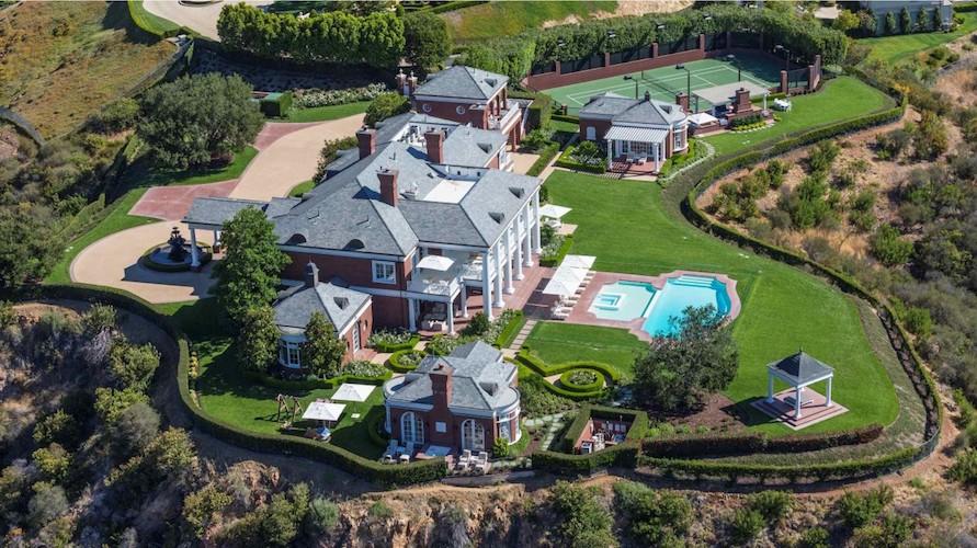 Espectaculares casas con su propia pista de tenis